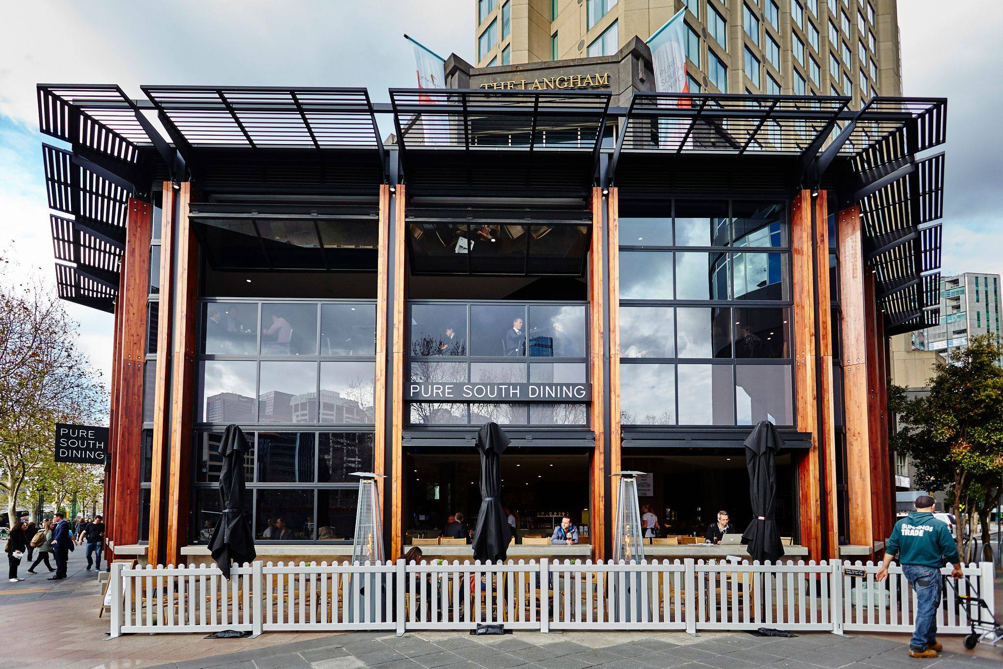 Southgate Melbourne Restaurants Pure South New Fitout