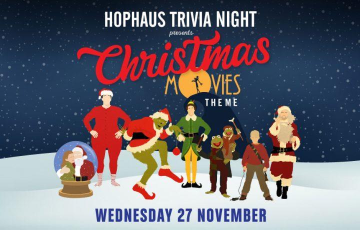 Hophaus Trivia Night: Christmas Movies Theme