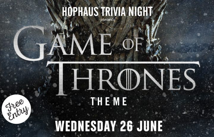 Hophaus Trivia Night